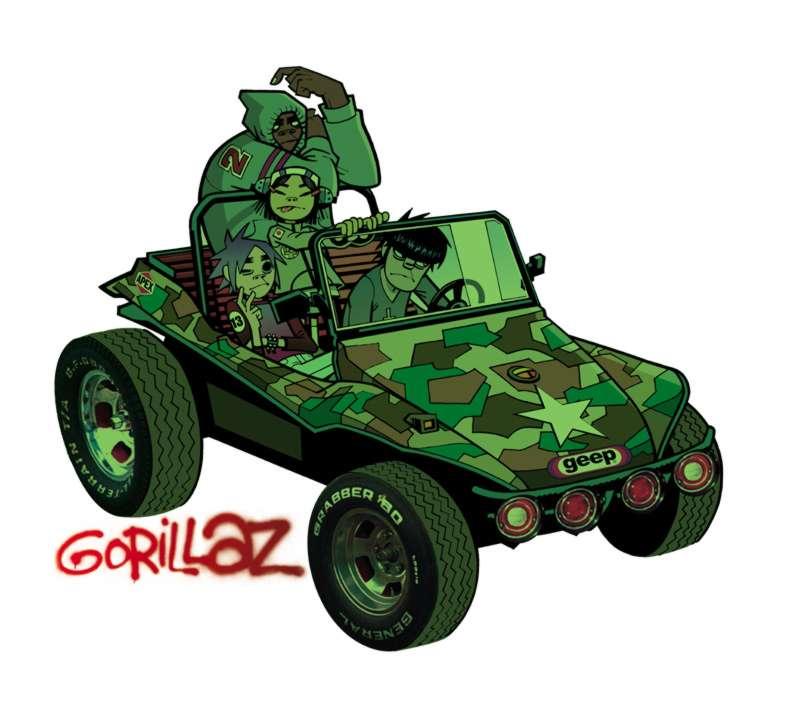 GORILLAZ «Gorillaz»