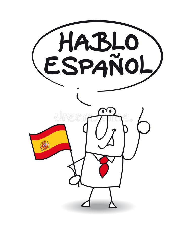 'Moi j'suis espagnol je prononce toutes les lettres ...