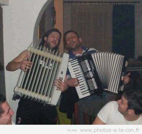 «La 8.6, la boisson favorite des accordéoniste»