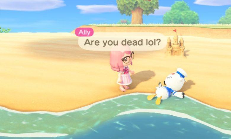 «Eh c'est pas avec Animal Crossing que tu vas sauver le monde !!»