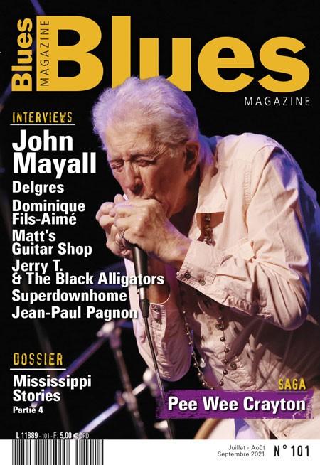 (DBSR) En kiosque – Blues Magazine N° 101